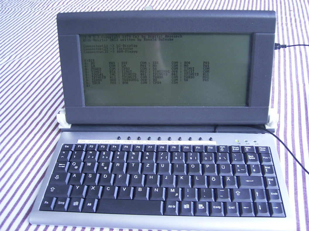 Z80 und CP/M-Projekt Ronald Daleske